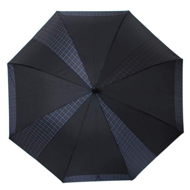 Зонт-трость мужской полуавтоматический Flioraj 232302 FJ черный
