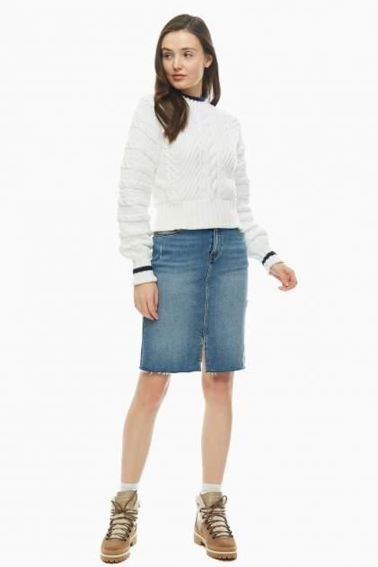Женская юбка Tommy Jeans DW0DW07321 1A4, синий
