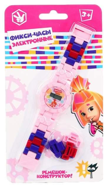 Часы наручные лего, Фиксики Симка, с ремешком-конструктором Sima-Land