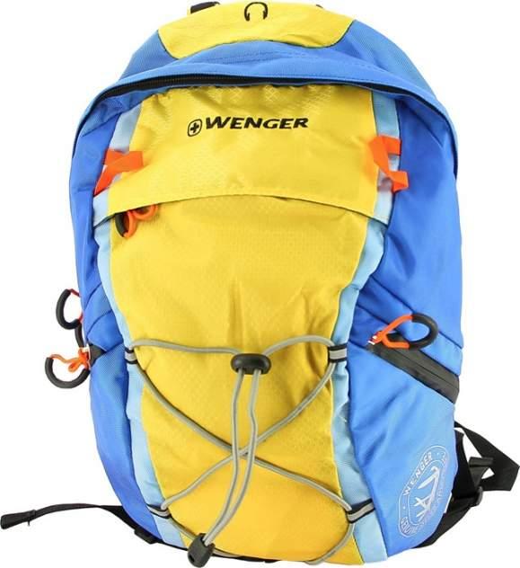 Рюкзак Wenger синий/желтый 14 л