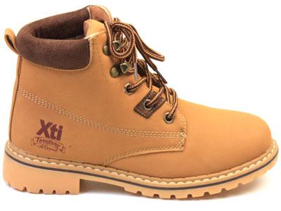 Ботинки детские XTI Kids, цв.коричневый р.33