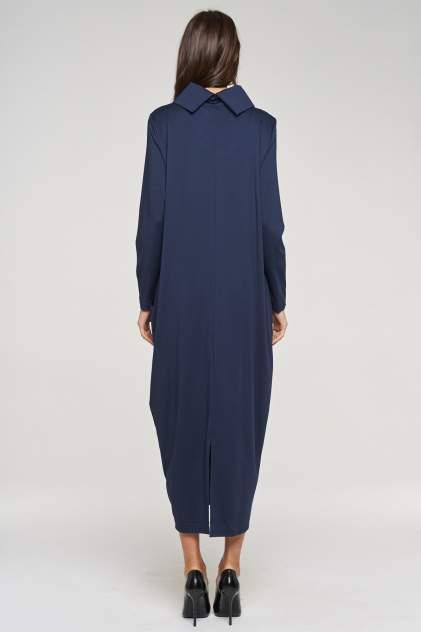 Платье женское VAY 192-3550 синее 48 RU