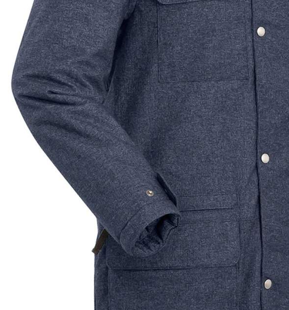 Пальто  SHL FORESTER 8001-9309-S СИНИЙ ТМН S