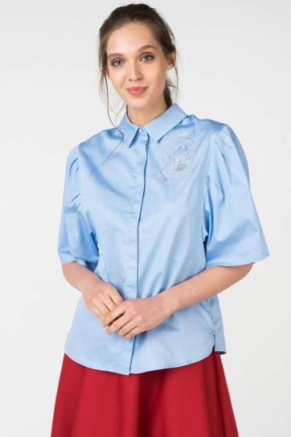Рубашка женская ZARINA 8226109309007 голубая 42 RU
