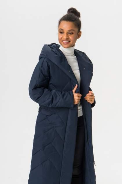 Пуховик-пальто женский Finn Flare A19-12008 синий M