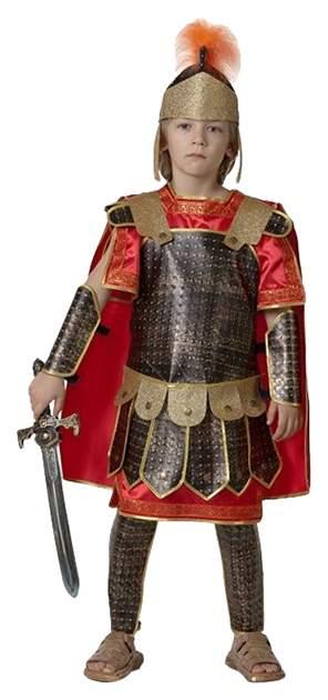 Карнавальный костюм Snowmen Гладиатор, цв. коричневый; красный р.104