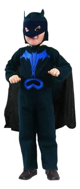 Карнавальный костюм Snowmen Бэтмен; Герои DC, цв. черный р.104