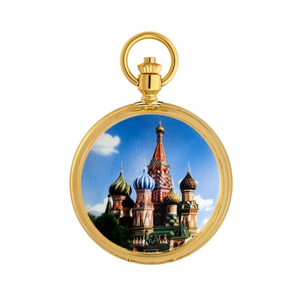 Карманные часы мужские Русское время 2696272 золотистые