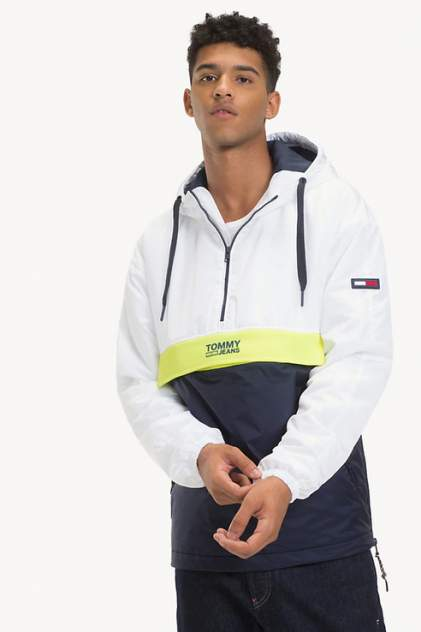 Спортивная ветровка Tommy Jeans DM0DM05429, белый