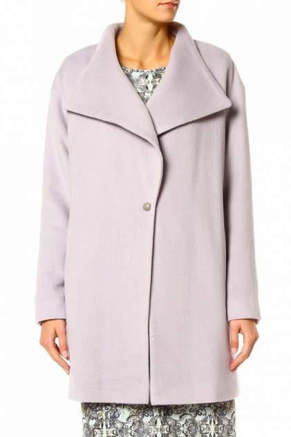 Пальто женское Adzhedo 6183 фиолетовое 4XL