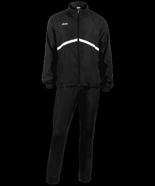 Спортивный костюм Jogel JLS-4401-061, черный/белый, S INT
