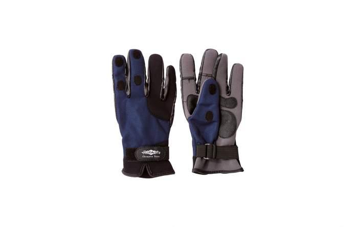 Перчатки мужские Mikado UMR-04, синие/серые, M