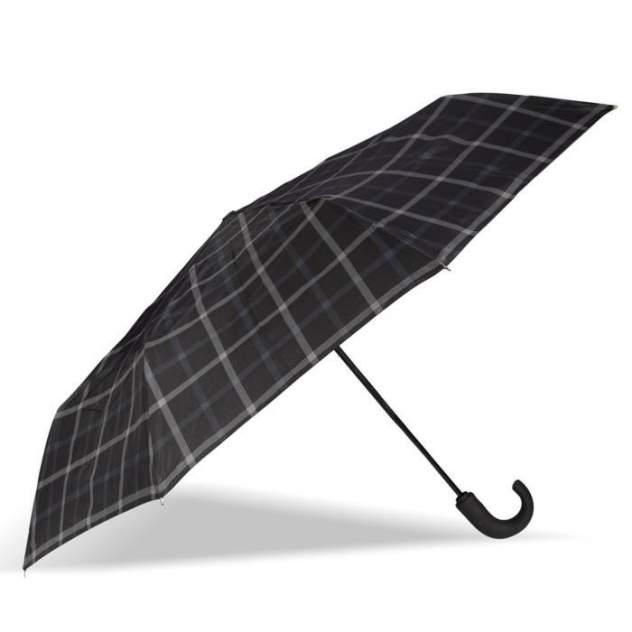 Зонт складной мужской автоматический Isotoner 09407-3971 черный