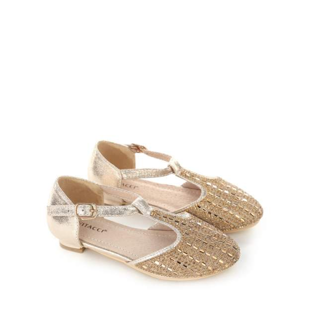 Туфли детские Vitacci, цв. желтый р.28