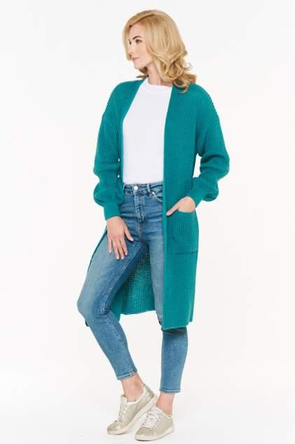 Жакет женский VAY 192-1597 зеленый 48 RU