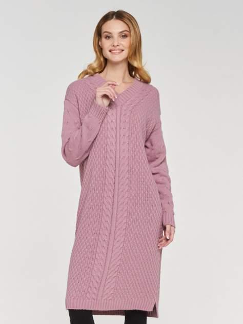 Женское платье VAY 192-2424, розовый
