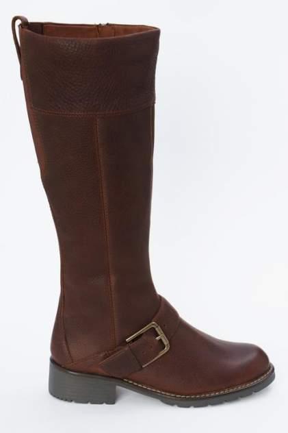 Сапоги женские Clarks 26138195 коричневые 36 RU