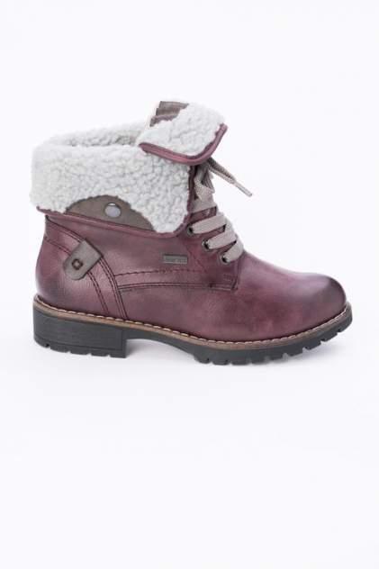 Ботинки женские Jana 8-8-26216-21 красные 39 RU