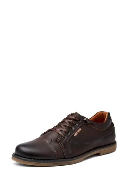 Мужские полуботинки Alessio Nesca 25807760, коричневый