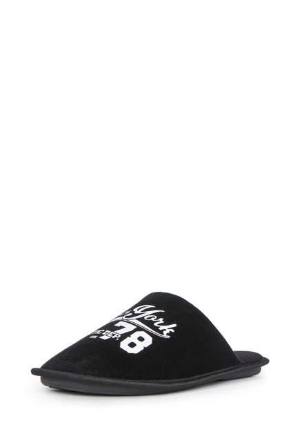 Шлепанцы мужские T.Taccardi 03006010 черные 40 RU