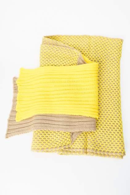 Шарф женский Kawaii Factory KW082-000094 желтый