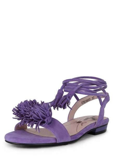 Босоножки женские Pierre Cardin 710017486 фиолетовые 38 RU