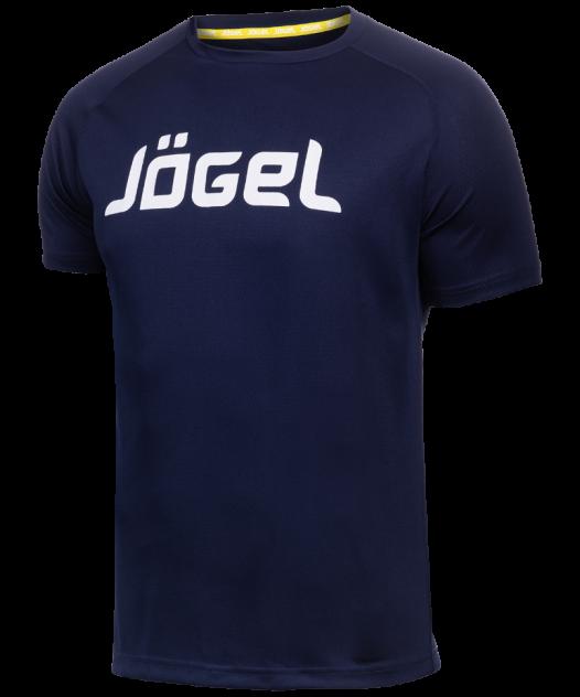 Футболка Jogel JTT-1041-097, темно-синий/белый, M INT