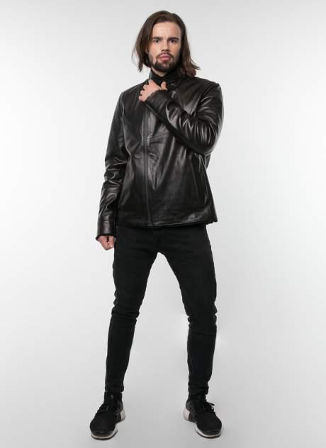 Дубленка мужская Perre 4466i черная 50 RU
