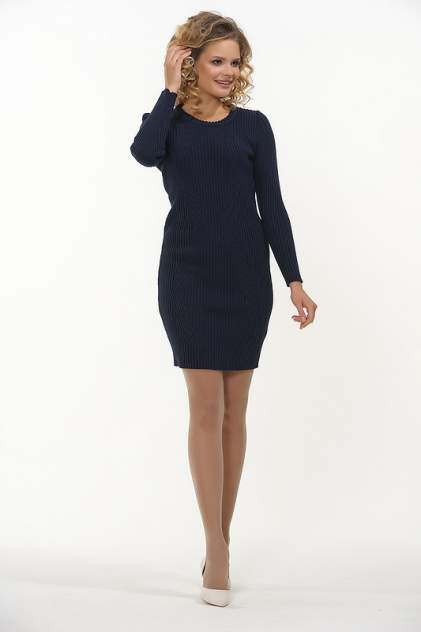 Платье женское VAY 2304 синее 52 RU