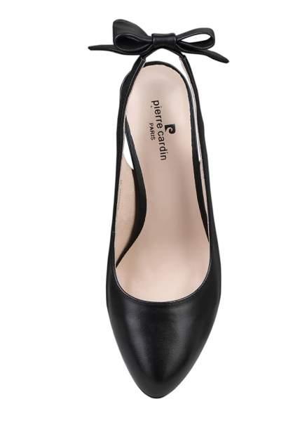 Туфли женские Pierre Cardin 710018114 черные 35 RU