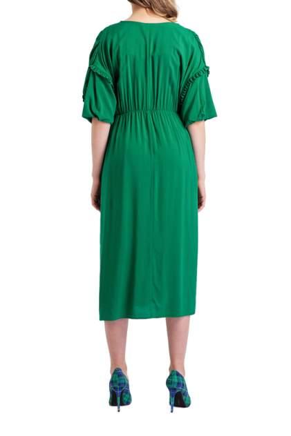 Платье женское BGN S19D197 зеленое 38 FR