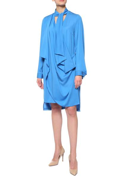 Платье женское Adzhedo 41688 голубое 3XL