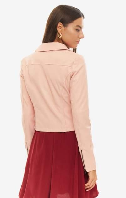 Кожаная куртка женская Liu Jo W69121E0493 51512 розовая 40 IT