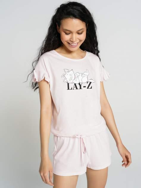 Пижама женская ТВОЕ 71688 розовая XS