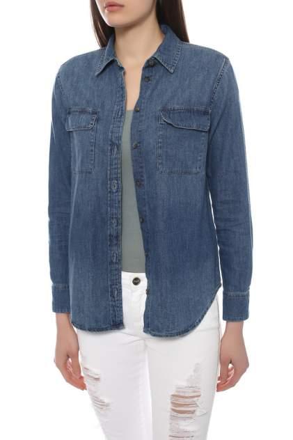 Блуза женская Equipment 5153707 синяя XS