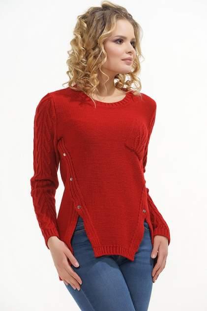 Джемпер женский VAY 4622 красный 44 RU