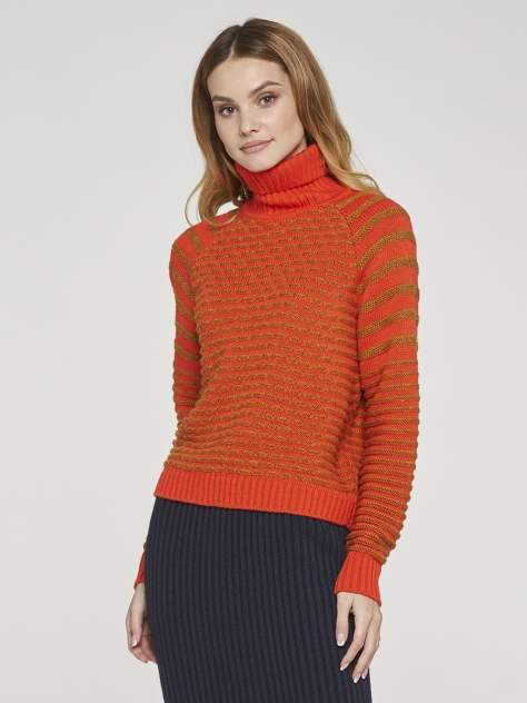 Свитер женский VAY 192-4066 оранжевый 44 RU