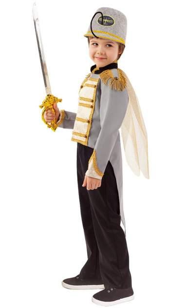Карнавальный костюм Батик, цв. серый