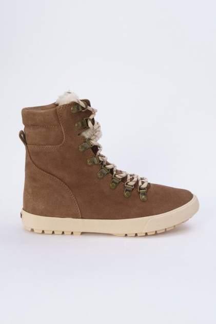 Ботинки женские Roxy ARJB700556-BRN коричневые 37 RU