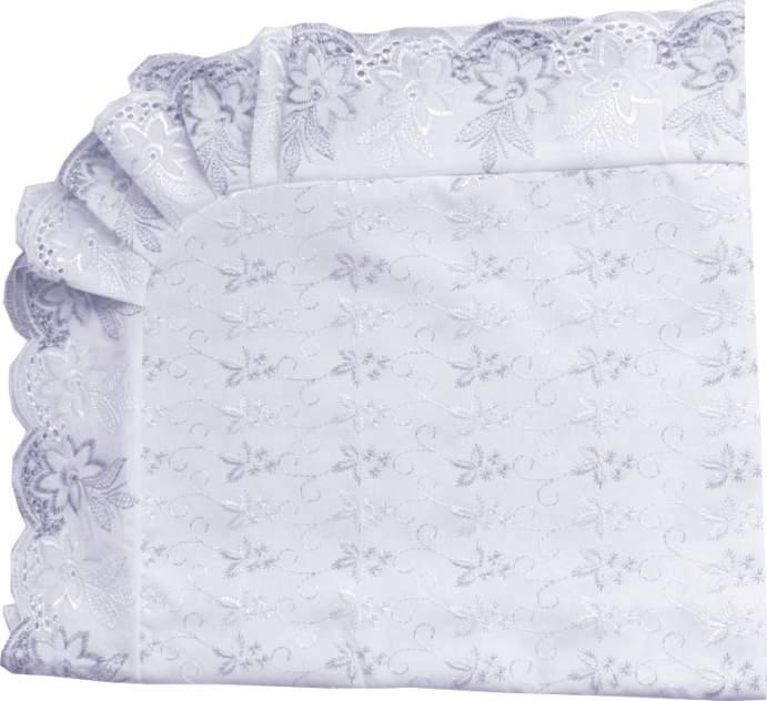 Уголок Папитто кружевное полотно с шитьем Белый