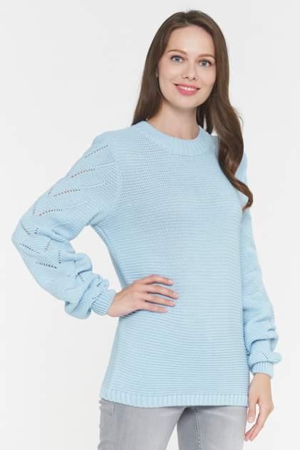 Джемпер женский VAY 192-4050 голубой 50 RU