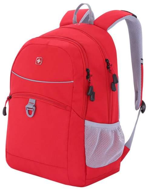 Рюкзак Wenger 6651114408 красный/серый 26 л