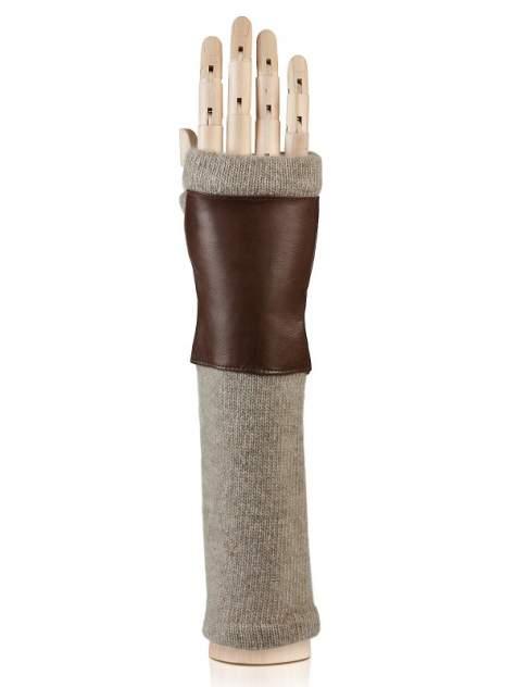 Митенки женские Eleganzza 12600 коричневые 6.5