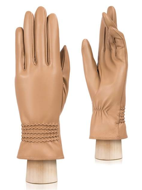 Перчатки женские Eleganzza IS962 бежевые 6.5