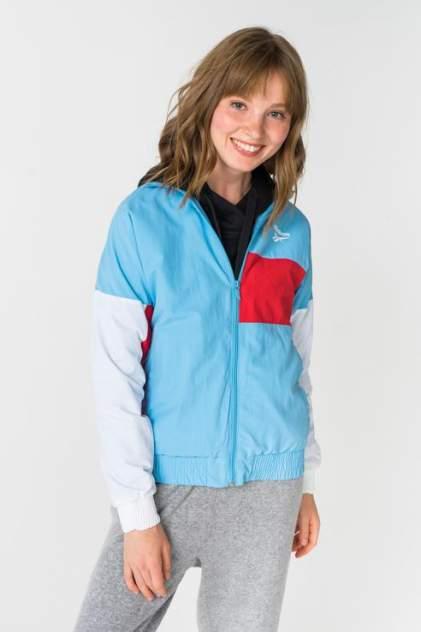 Куртка женская Reebok BS3600 голубая 40 UK