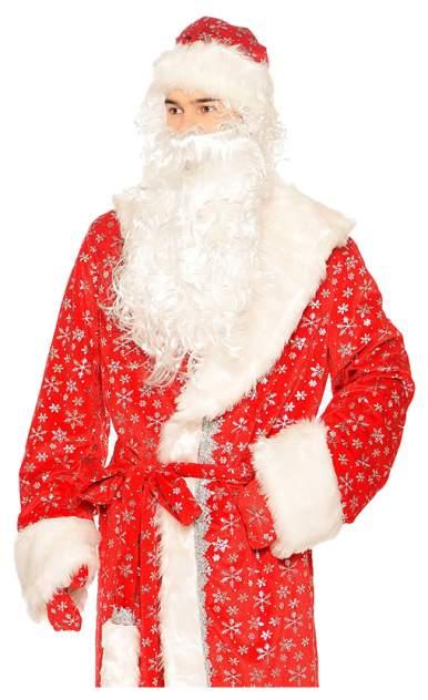Карнавальный костюм Батик Дед Мороз, цв. синий р.122