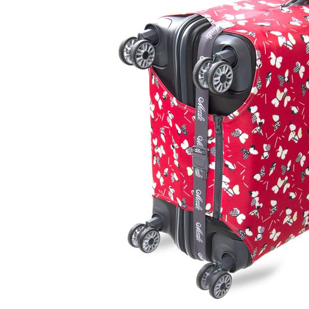 Чехол для чемодана Mettle Бумажные бабочки M