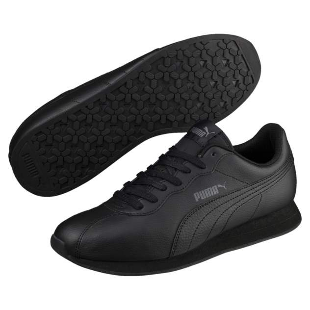 Кроссовки Puma Turin II, black/black, 9.5 UK