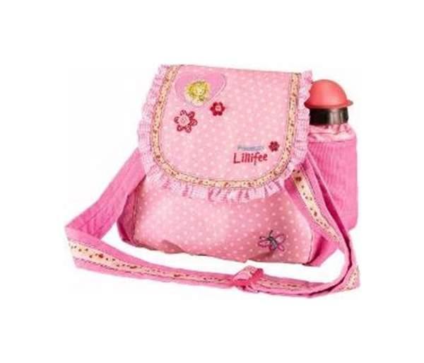 Сумка детская Spiegelburg для детского сада Prinzessin Lillifee розовая в горошек
