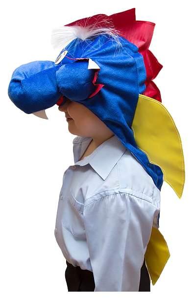 Карнавальная шапка Бока Дракон, с крыльями, 54-56 см 1788